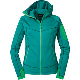 Schöffel Bieltal Fleece Hoody Women teal blue